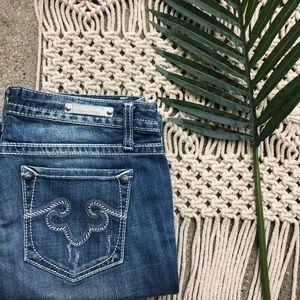 Rerock For Express Boot Jeans Size 6 Bootcut Denim